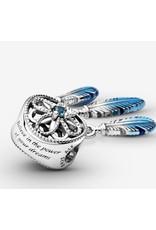 Pandora Pandora Charm,799341C01, Blue Dreamcatcher, Blue Enamel & CZ