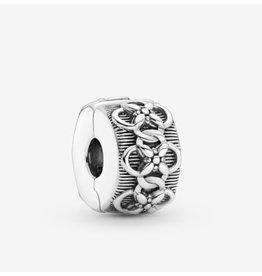 Pandora Pandora Clip,799316C00, Flower Pattern