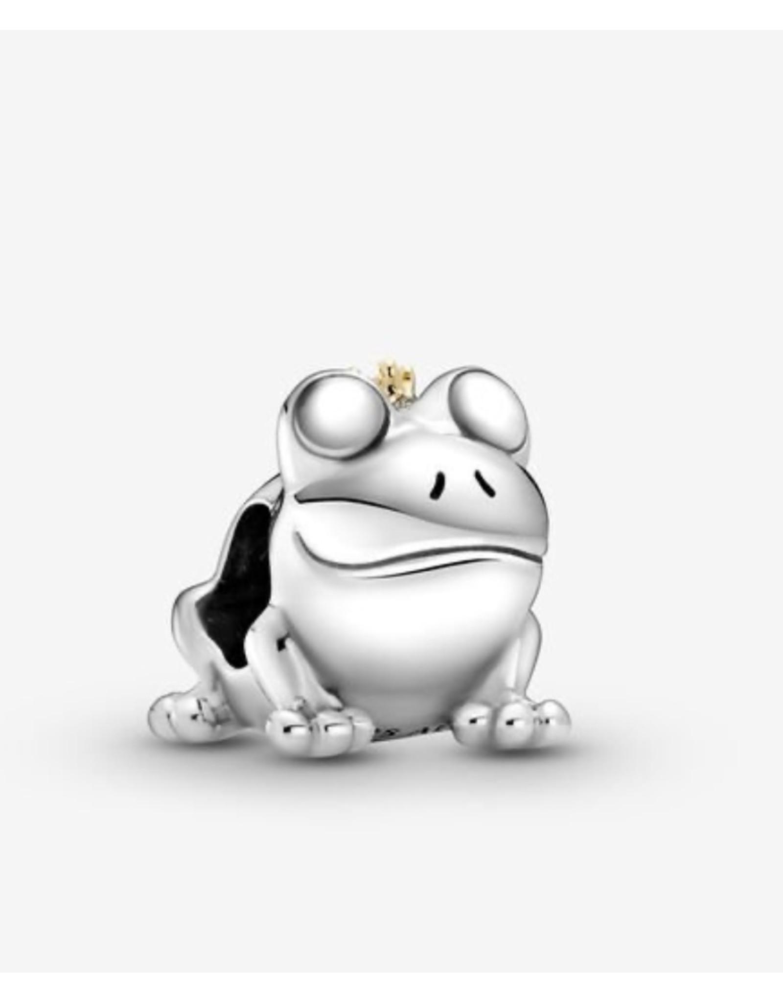 Pandora Pandora Charm,799342C00, Two-Tone Frog Prince, 14K Gold