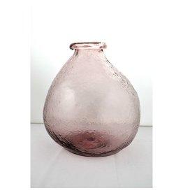 Vase Bulle,  Rose