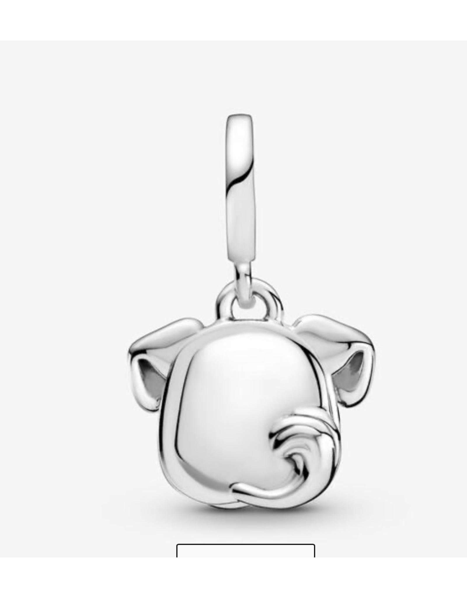 Pandora Charm,799327C01, My Pet Dog, Silver Enamel