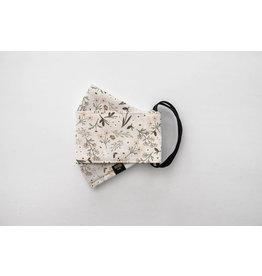 Augustine & CO Masque De Protection, Natasha Floraison Creme - 3 Épaisseurs