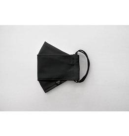 Augustine & CO Masque De Protection, Uni Noir - 3 Épaisseurs