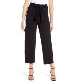 Bishop & Young Pants Tie Front Crop Black