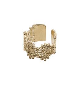 Pilgrim Ring Bente, Gold Plated