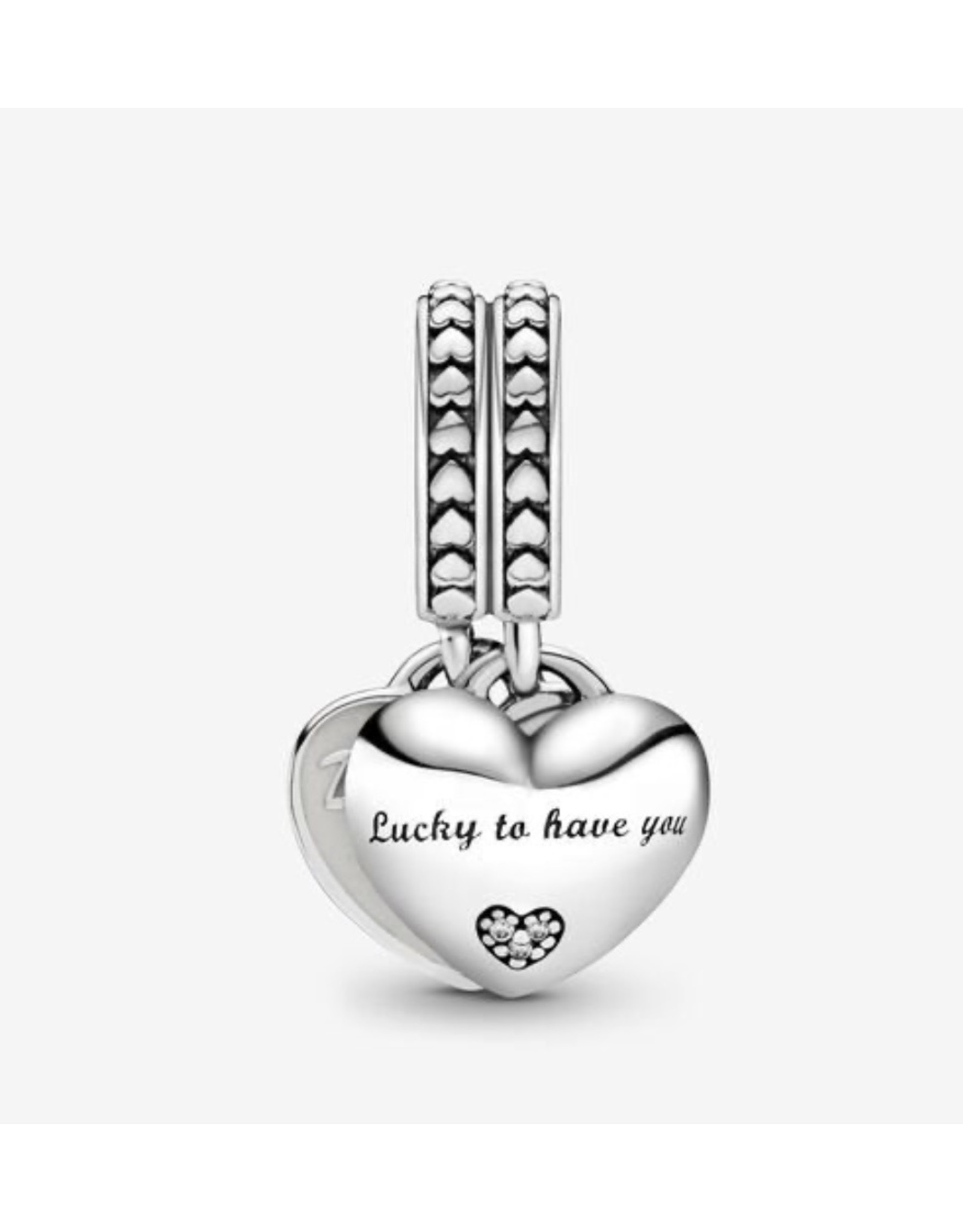 Pandora Pandora Charm,799321C01, Daughter & Mother In Law Hearts