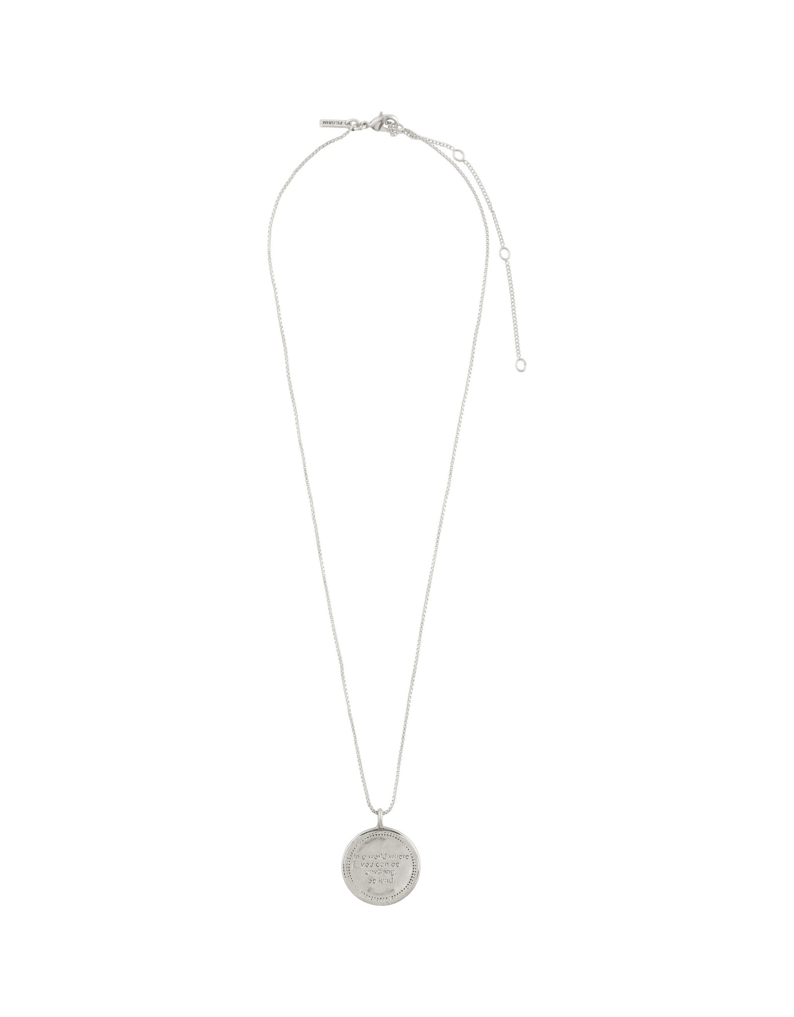 Pilgrim Necklace Caris, Silver Plated