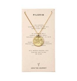 Pilgrim Necklace Caris, Gold Plated