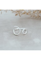 Glee jewelry Faith Ring, Silver