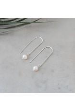Glee jewelry Lore Earrings, Silver