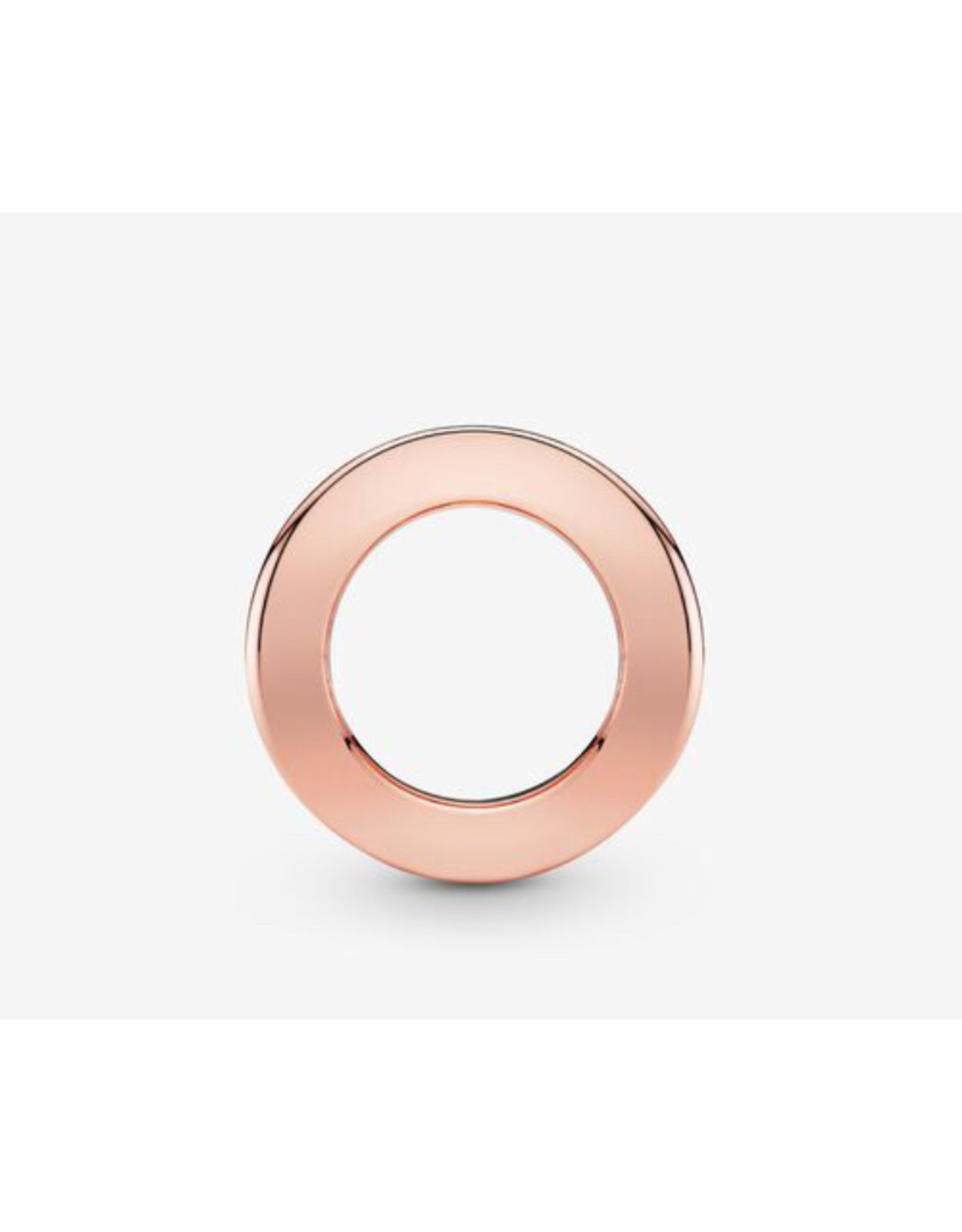 Pandora Pandora Charm,787598, Reflexions Logo Clip, Rose Gold