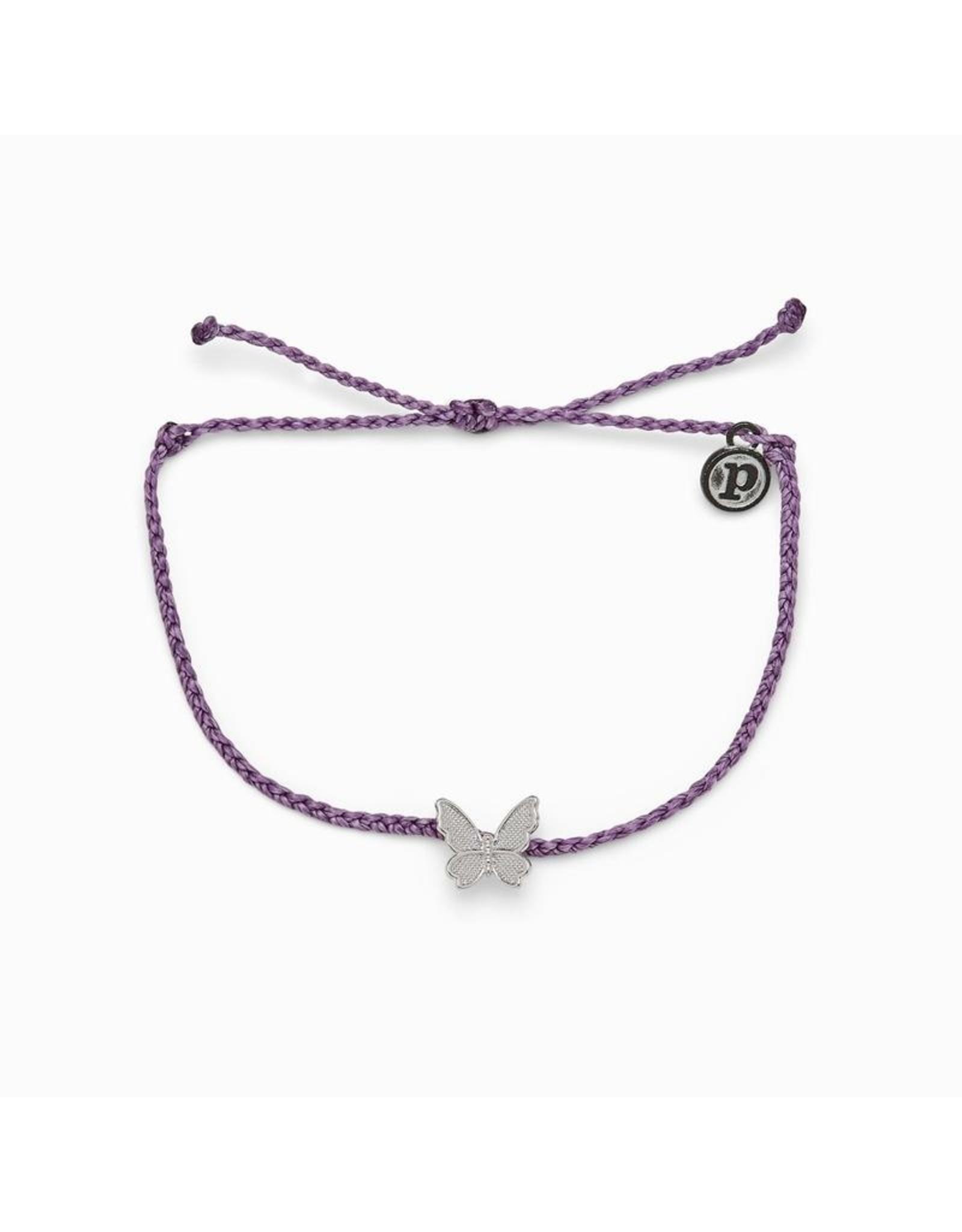 Pura Vida Butterfly In Flight, Light Purple Pura Vida