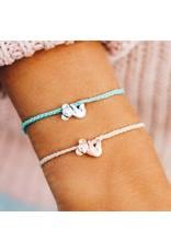 Pura Vida Charity,Koala Silver, Seafoam