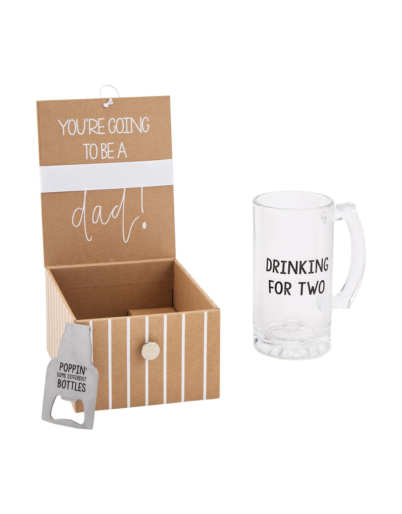 Mud Pie Baby Announcement Box, Dad Beer
