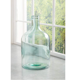 Mud Pie Large Glass Clear Vase