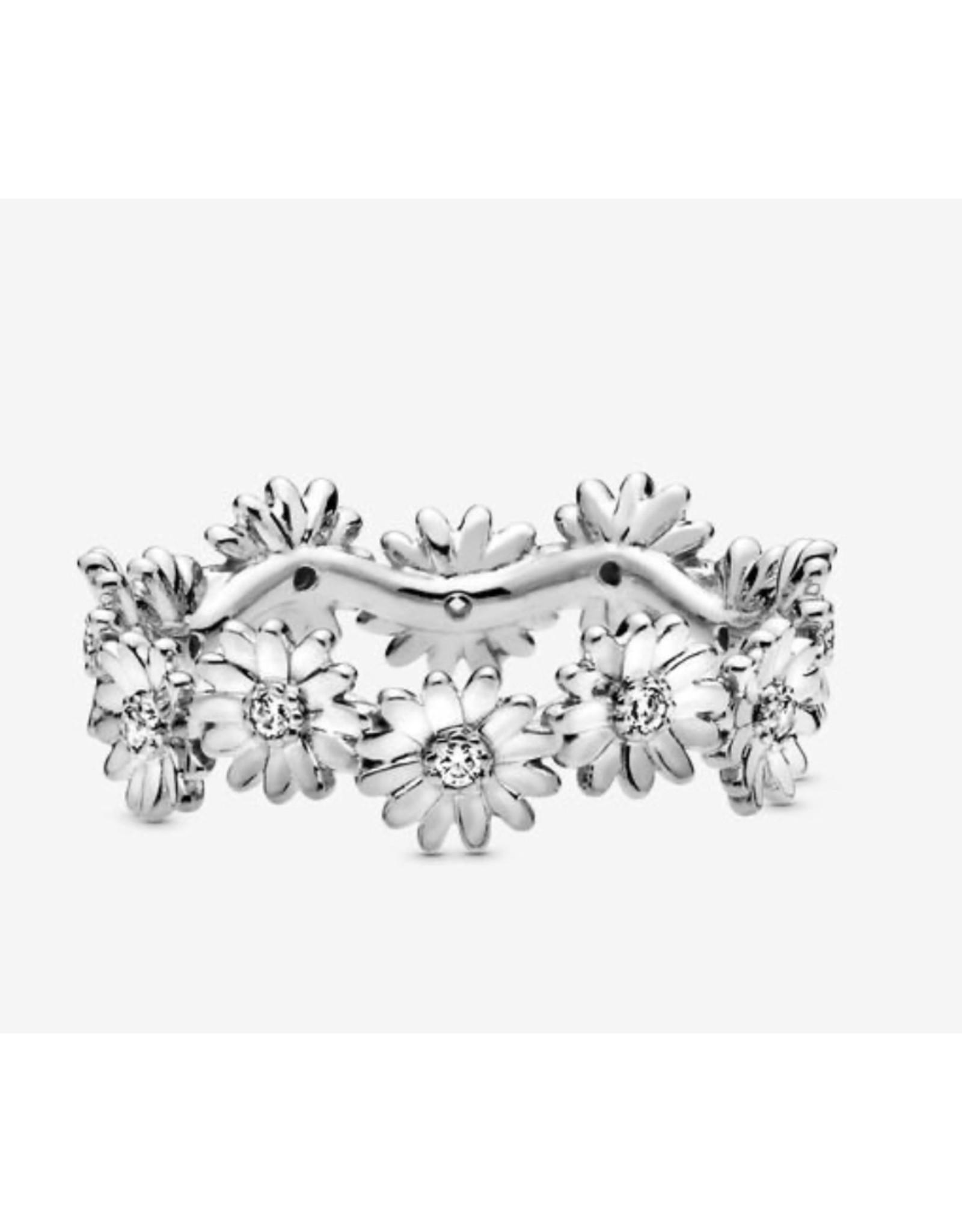 Pandora Pandora Ring, (198799C01) Sparkling Daisy Flower Crown
