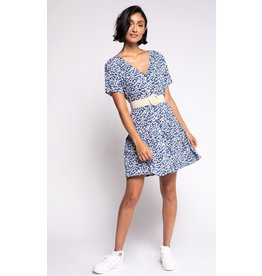 The Lylou Dress, Blue