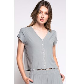 The Maeve Top, Sage