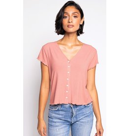 The Maeve Top, Dusty Pink