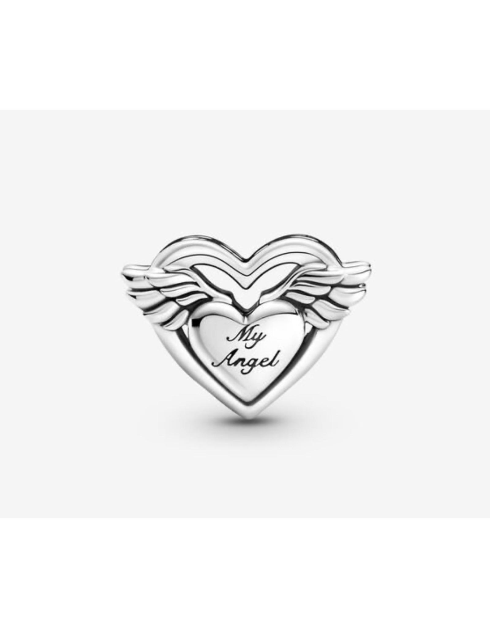Pandora Pandora Charm,799367C00, Angel Wings&Mom