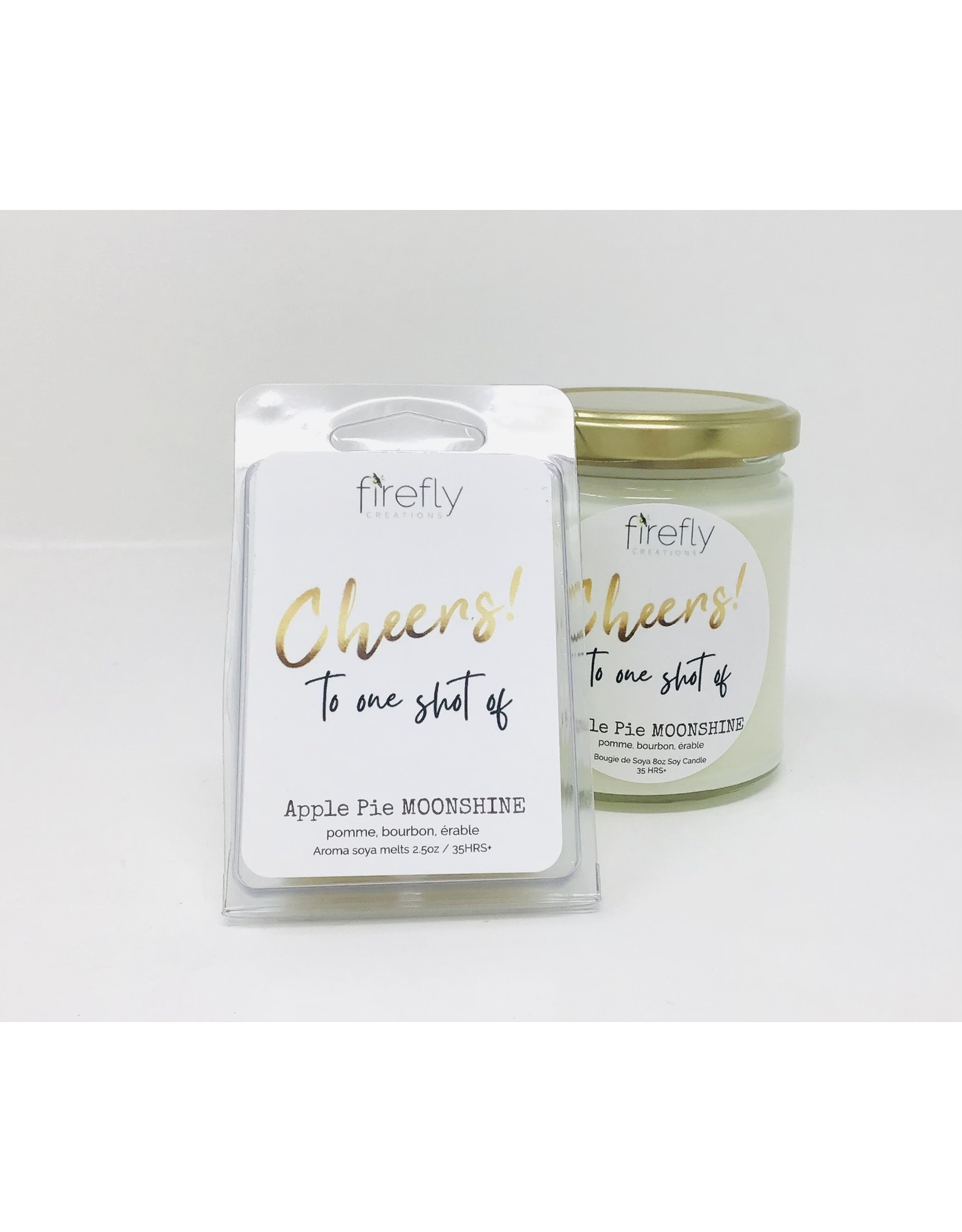 Firefly Creations, Apple Pie Moonshine Wax Melts 2.5oz