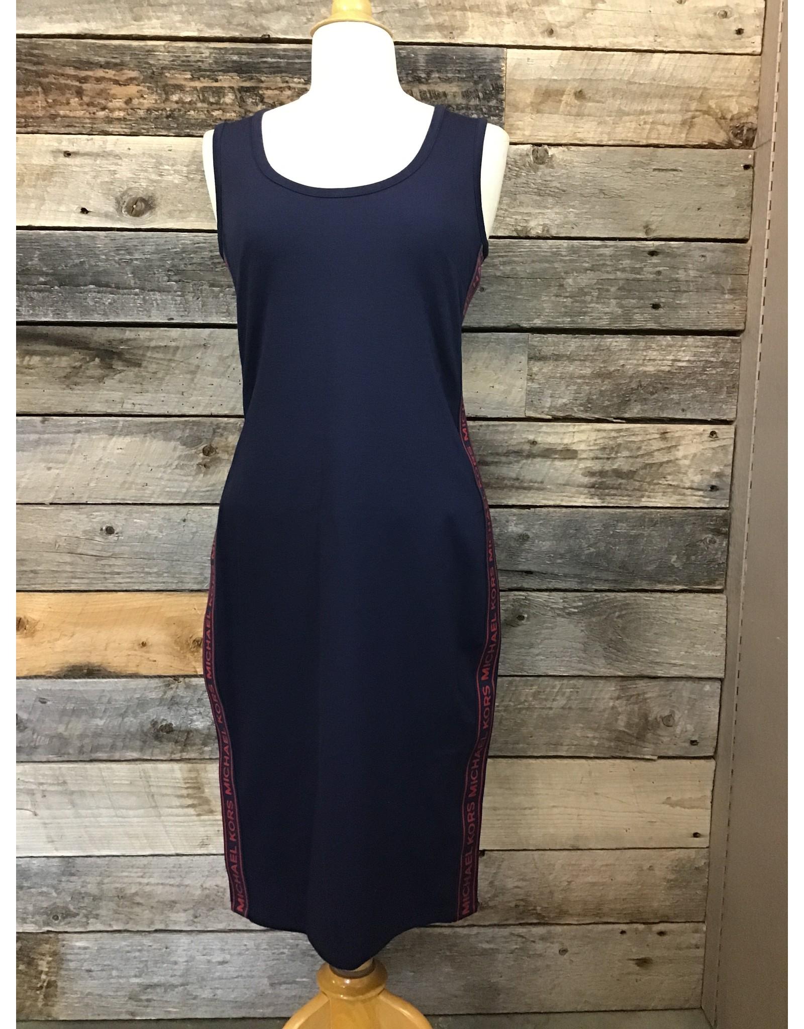 Michael Kors Dress, Logo Navy/Red