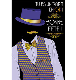Carte De Souhaits, Papa en or