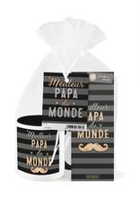Ensemble Cadeau Chocolat et Tasse-Meilleur Papa Du Monde