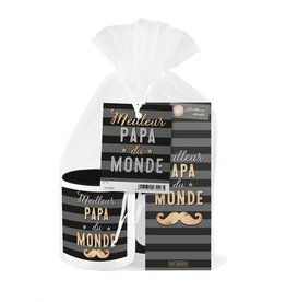 Art Grafik Ensemble Cadeau Chocolat et Tasse-Meilleur Papa Du Monde