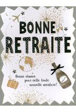 All For One Carte De Souhaits 12X9.5, Bonne Retraite, Nouvelle Aventure