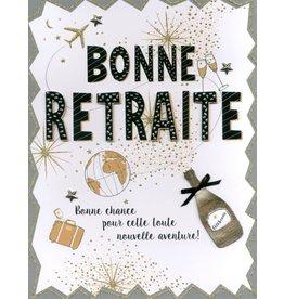 Carte De Souhaits 12X9.5, Bonne Retraite, Nouvelle Aventure