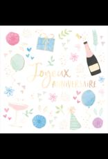 Carte De Souhaits, Joyeux Anniversaire, Celebrons