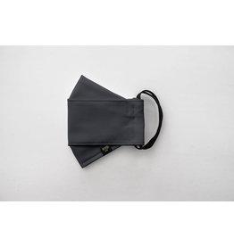 Augustine & CO Masque De Protection, Uni Gris, 3 Épaisseurs