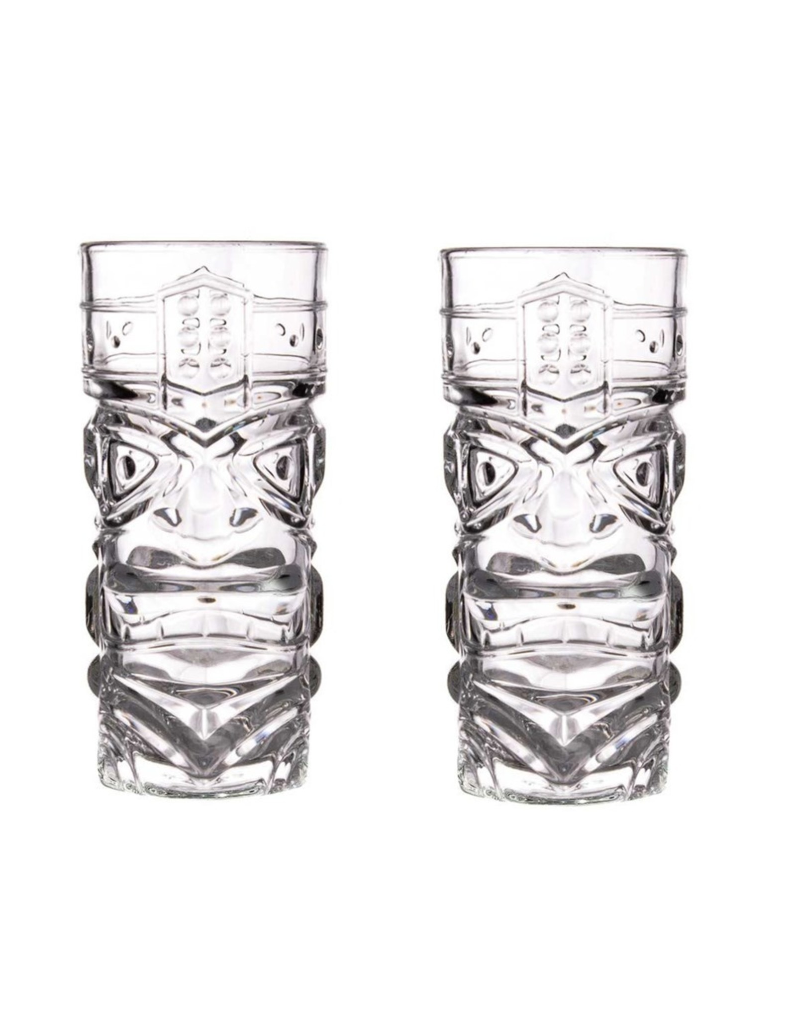 Tiki Bar 2 Cocktail Glasses