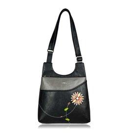 Lira Messenger Bag, Black