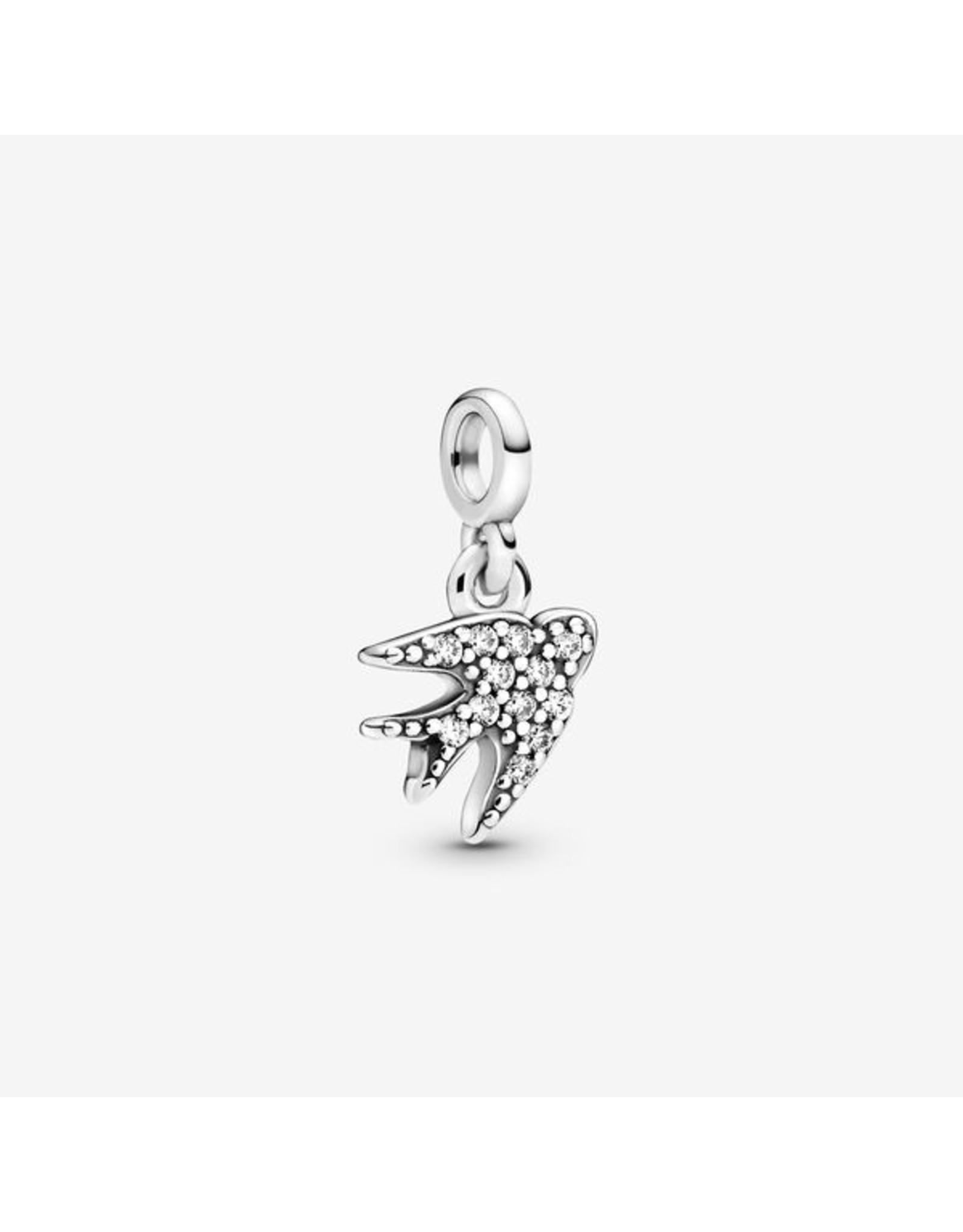 Pandora Pandora ME Charm,798984C01, My Swallow Dangle, Clear CZ