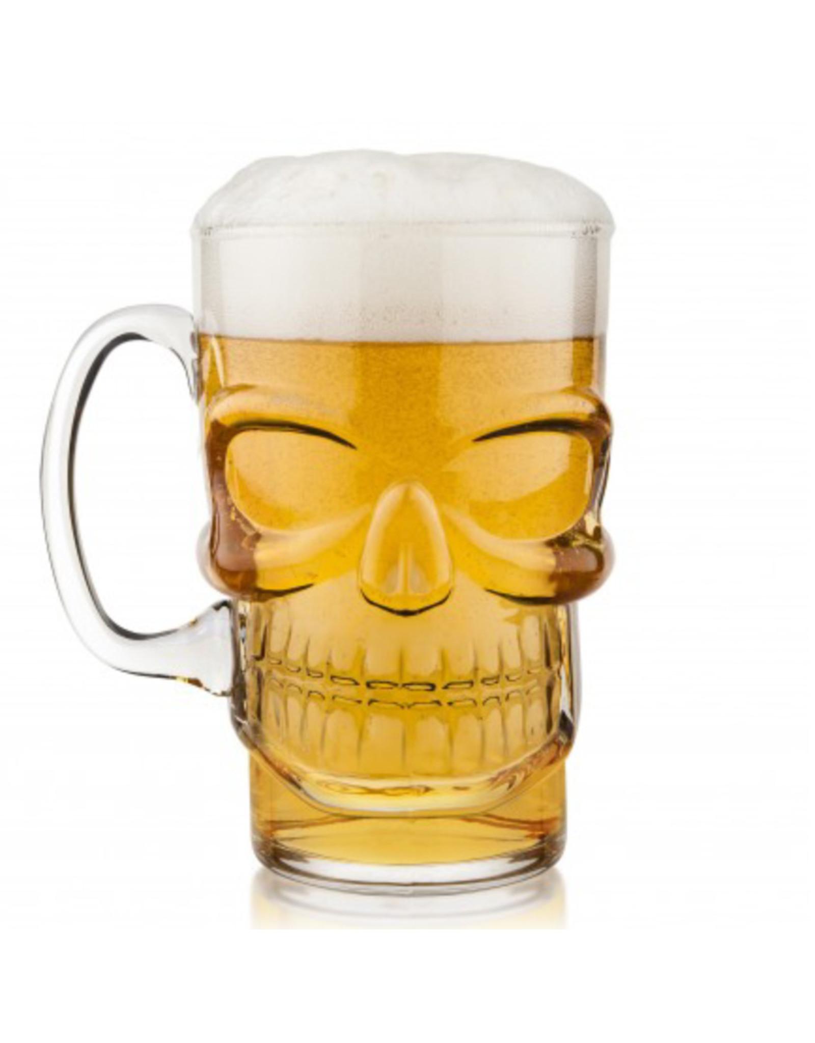 Brain Freeze Skull Beer Mug