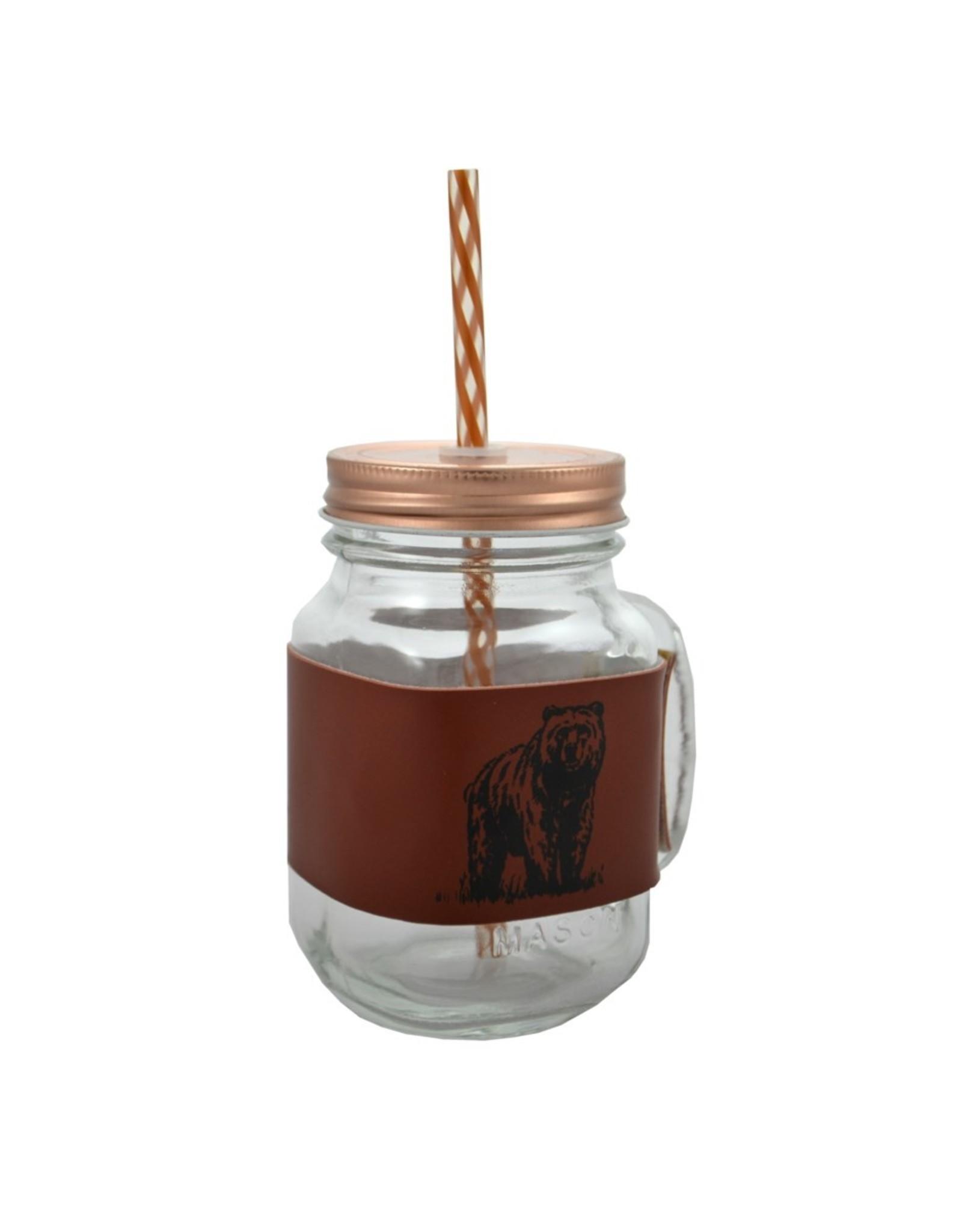 Mason Jar Bear