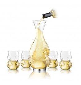 Conundrum l'Grand Decanter + 4 Wine Glass