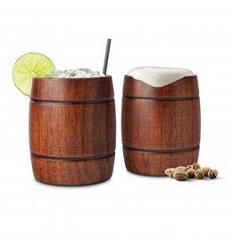 Wood Mug - 2pc set