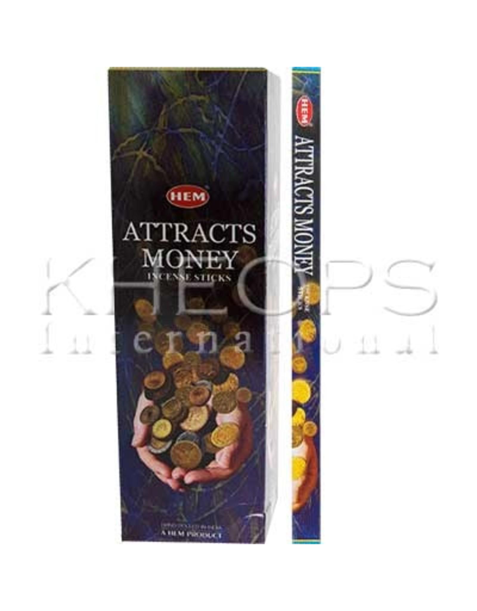Hem HEM-Encens Attracts Money 8gr
