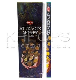 HEM-Encens Attracts Money 8gr