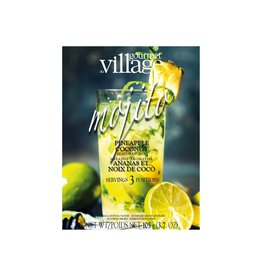 Gourmet du Village Mojito, Pineapple/Coconut, Flavored Mix