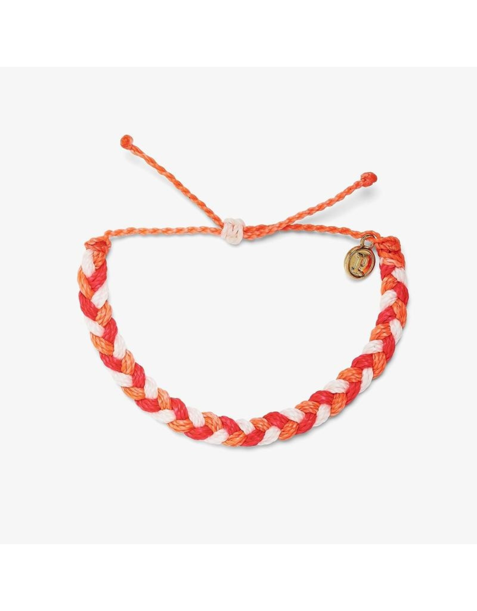 Pura Vida Braided Bracelet, Fruit Punch