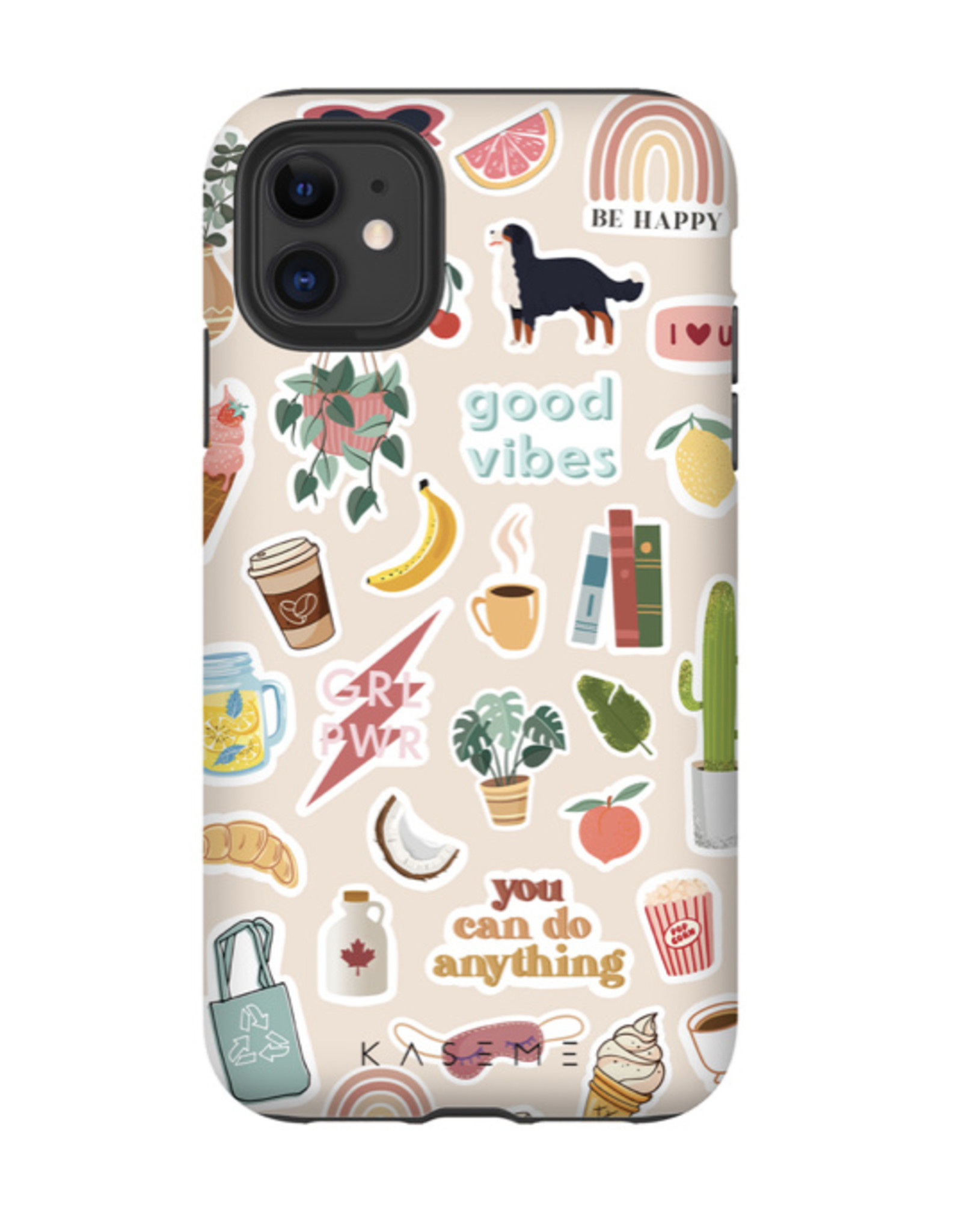 KaseMe Good Vibes, IPhone 11/XR Tough