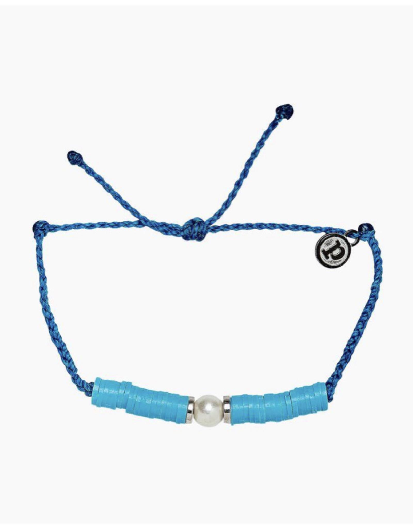 Pura Vida Neon Moon Bracelet, Neon Blue