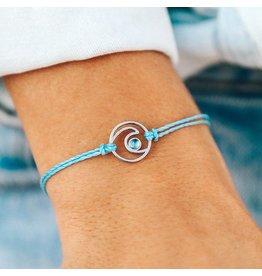 Pura Vida Shimmering Wave, Crystal Blue