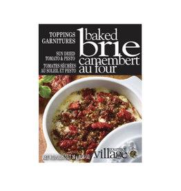 Gourmet du Village Toppings Baked Brie, Sun Dried Tomato & Pesto