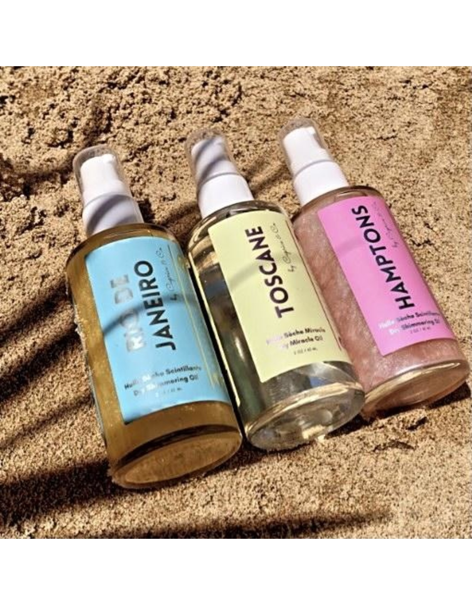 Caprice & Co Dry Shimmering Oil, Hamptons