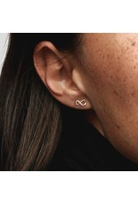 Pandora Pandora Earrings,288820C01,Infinity Pandora Rose Gold
